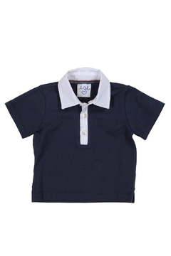 Shoptiques Product: Navy Polo Tee.