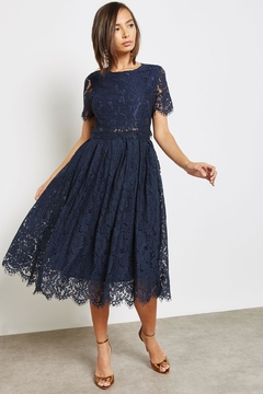 Just Me Navy Princess Lace - Product List Image