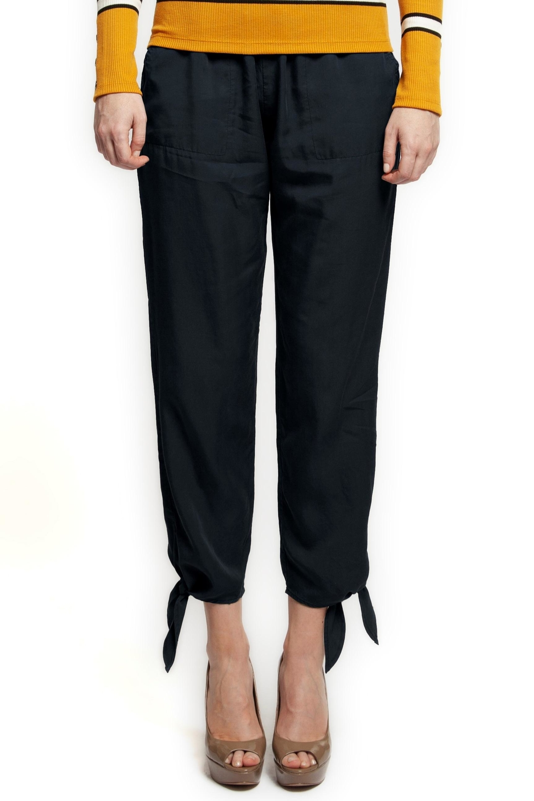 Black Tape Navy Pull-On Pant - Main Image