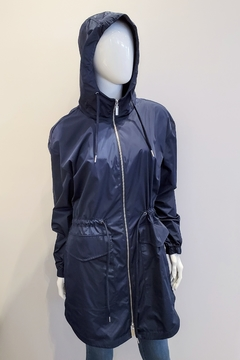 Shoptiques Product: Navy Rain Jacekt
