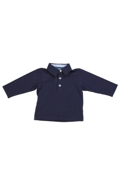Malvi & Co. Navy Rugby Shirt. - Product List Image