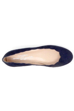 Brenda Zaro Navy Scallop Flats - Alternate List Image