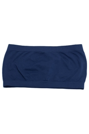 Zenana Navy Seamless Bandeau - Product Mini Image