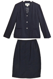 Rafael Navy Skirt Suit - Product Mini Image