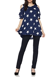 KITTY COUTURE  Navy Star Tunic - Product Mini Image