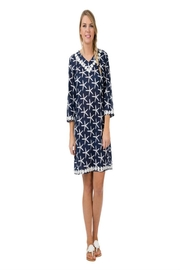 Top It Off Navy Starfish Tunic - Product Mini Image