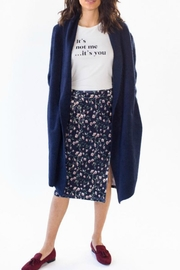 Pink Martini Collection Navy Stockport Jacket - Product Mini Image