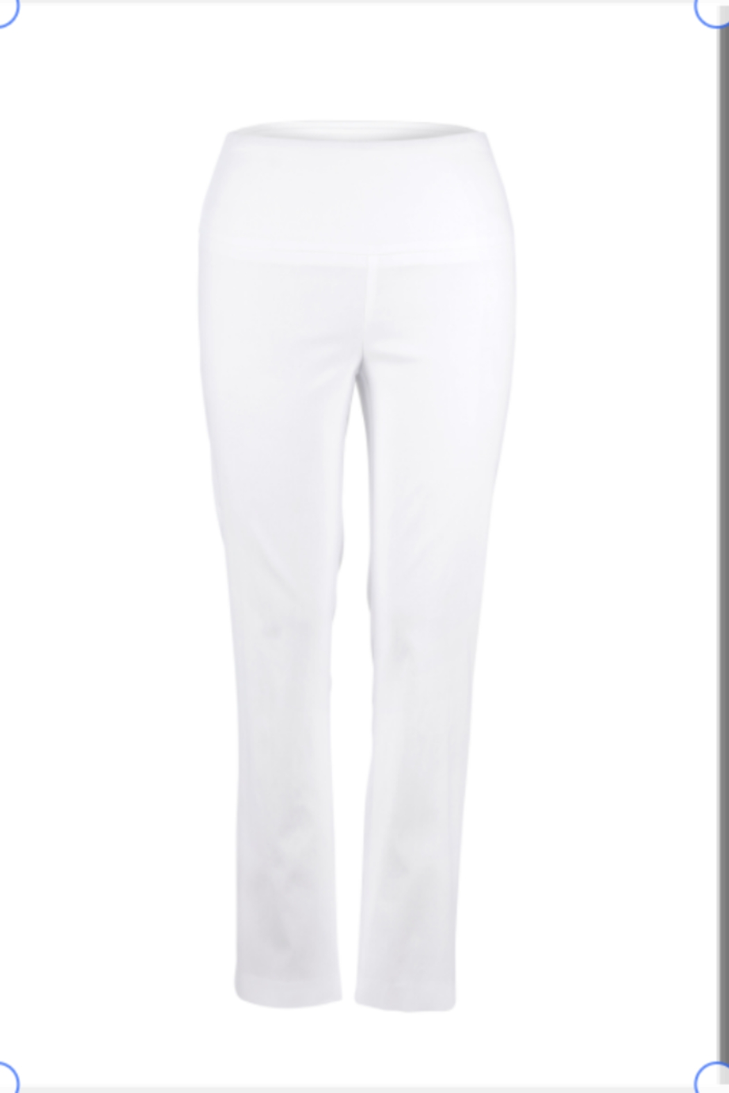 Up! Navy Straight Leg pant from UP! - Front Cropped Image