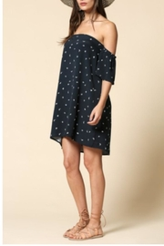 By Together Navy Strapless Dress - Product Mini Image