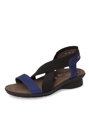 Mephisto Navy Stretch Sandal - Product Mini Image