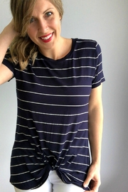 Another Love Navy Stripe Tee - Product Mini Image