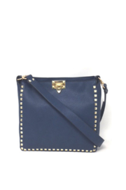 INZI Bags Navy Studded Crossbody - Product Mini Image