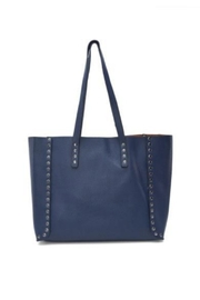 Allie & Chica Navy Studded Reversible Tote - Product Mini Image