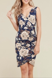 Heart & Hips Navy Surplus Dress - Product Mini Image