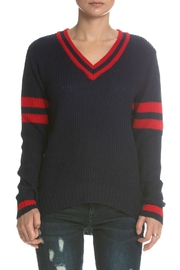 Elan Navy Sweater - Product Mini Image