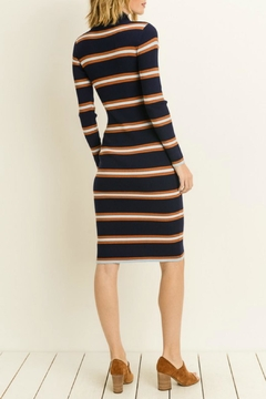 Le Lis Navy Sweater Dress - Alternate List Image