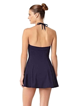 Anne Cole Navy Swim Dress - Alternate List Image