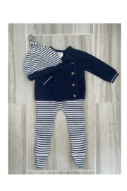 MudPie Navy Take Me Home Set - Front cropped