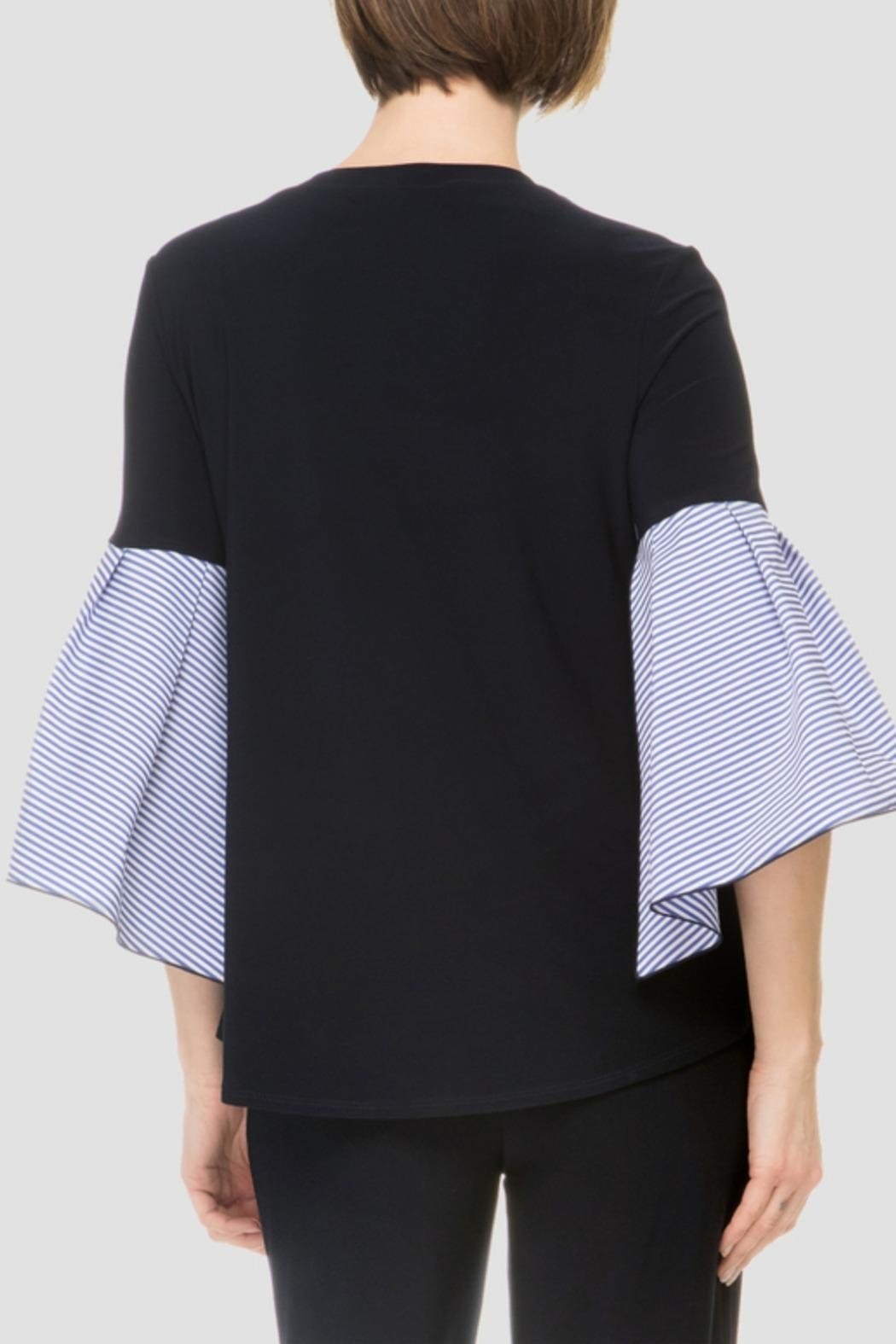 Joseph Ribkoff Navy Top - Side Cropped Image