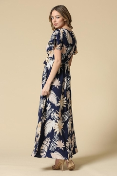 Illa Illa Navy Tropical Maxi - Alternate List Image