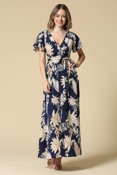 Illa Illa Navy Tropical Maxi - Product List Image