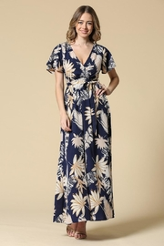 Illa Illa Navy Tropical Maxi - Product Mini Image