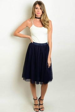 Humanity Navy Tulle Skirt - Alternate List Image