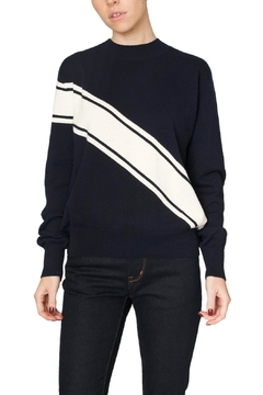 Fifth Label Navy Varsity Sweater - Product List Image