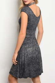 Gilli Navy Wash Dress - Front full body