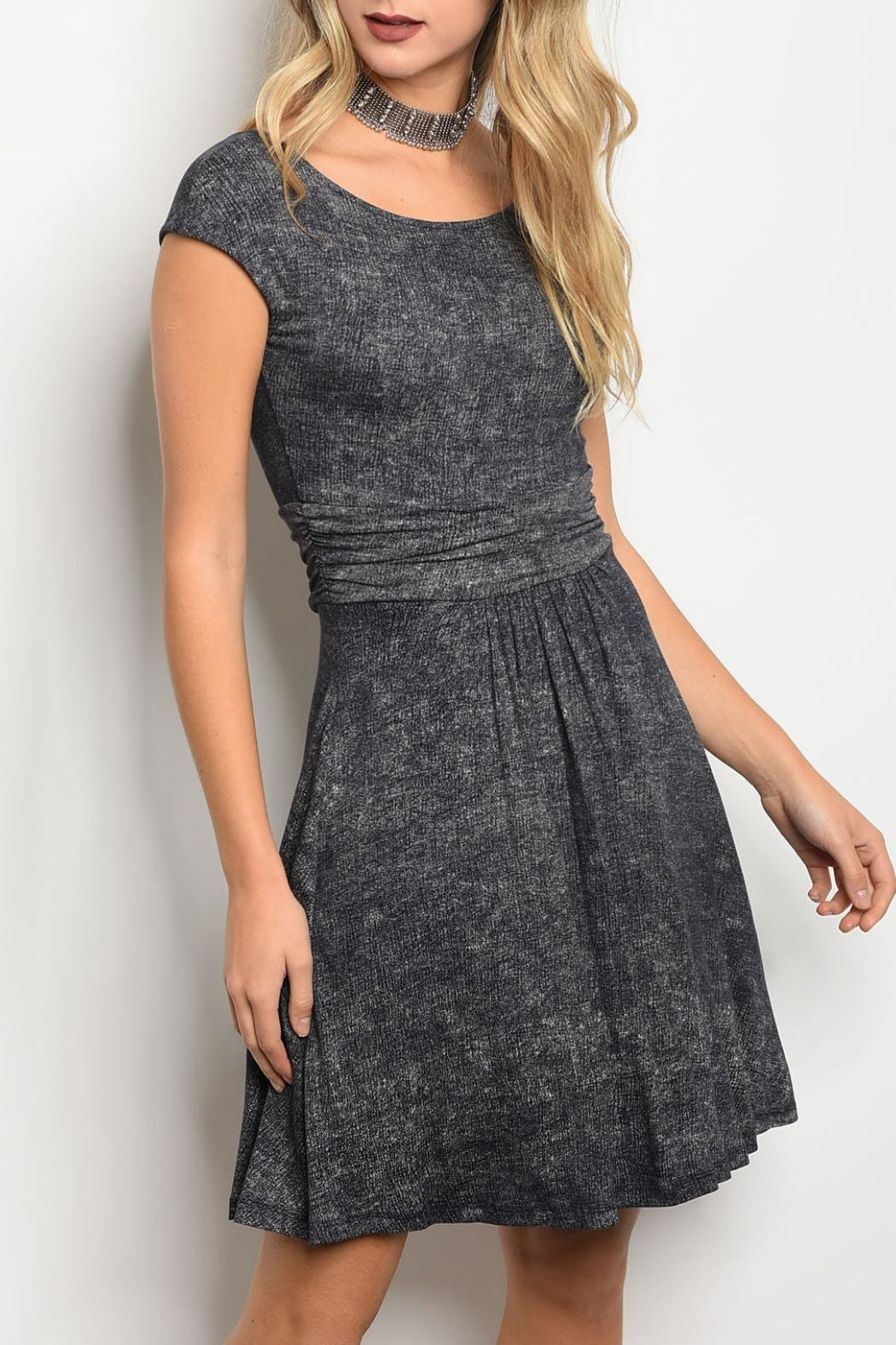 Gilli Navy Wash Dress - Main Image