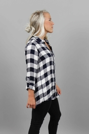 Staccato Navy White Flannel - Product Mini Image