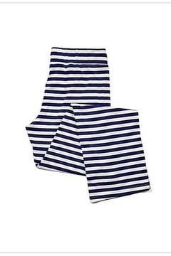 Toss Designs NAVY & WHITE STRIPE PJ PANTS - Alternate List Image