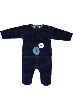 Shoptiques Product: Navyvelour Teddybear Stretchy