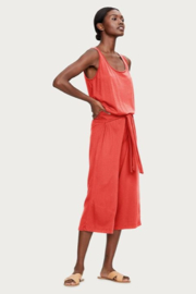 Michael Stars Naya Cropped Jumpsuit - Front full body