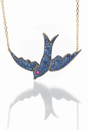Nayla Shami Jewelry Oiseau Bleu Necklace - Product Mini Image