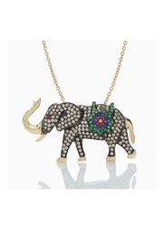 Nayla Shami Jewelry Tsavorites Elephant Necklace - Product Mini Image