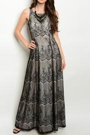 Nazz Collection Lace Maxi Dress - Product Mini Image