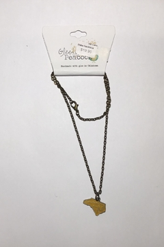 Gleeful Peacock Nc State Necklace - Alternate List Image
