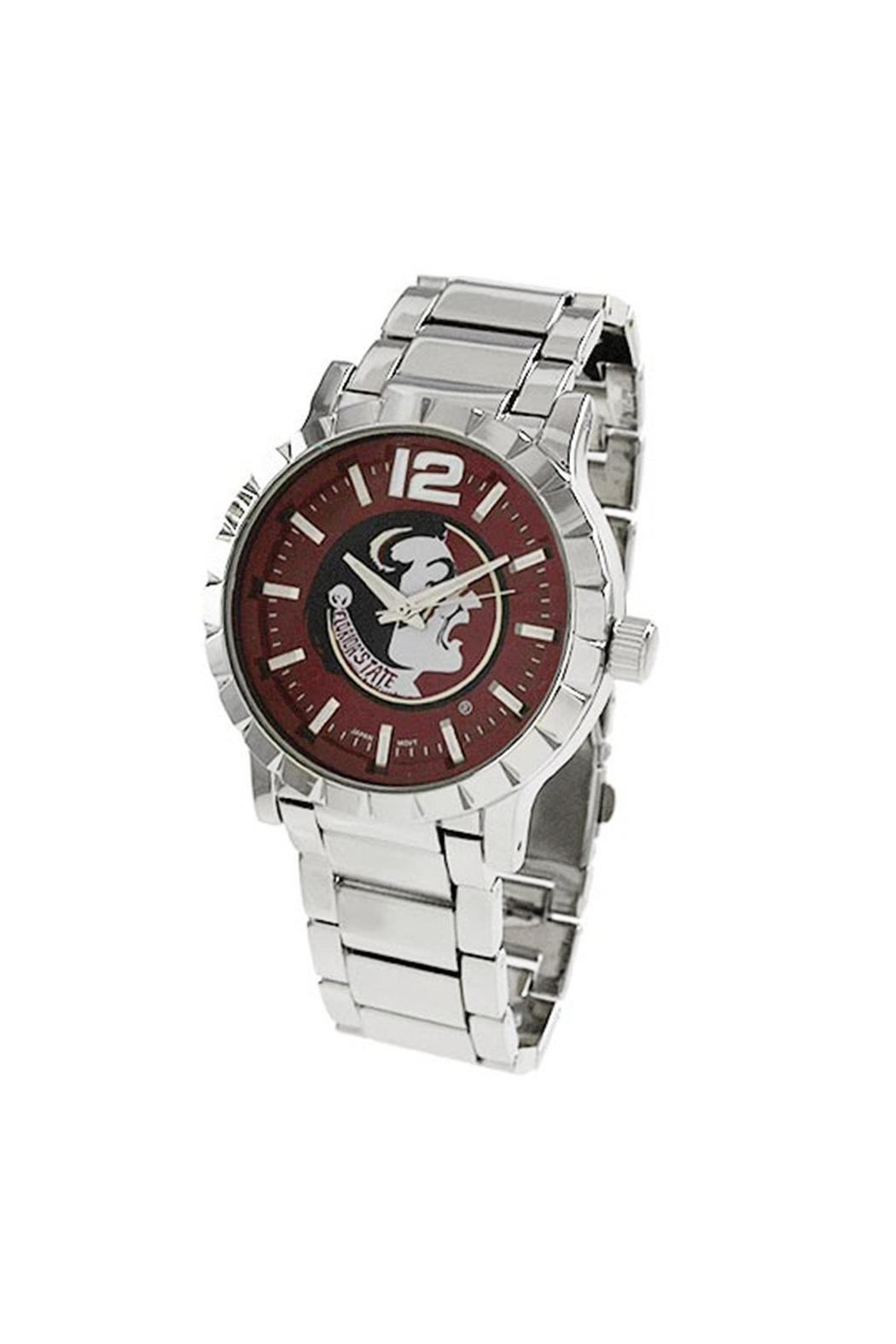 NCAA Florida-State-University Men's Watch - Front Cropped Image