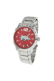 NCAA University-Of-Arkansas Men's Watch - Front cropped