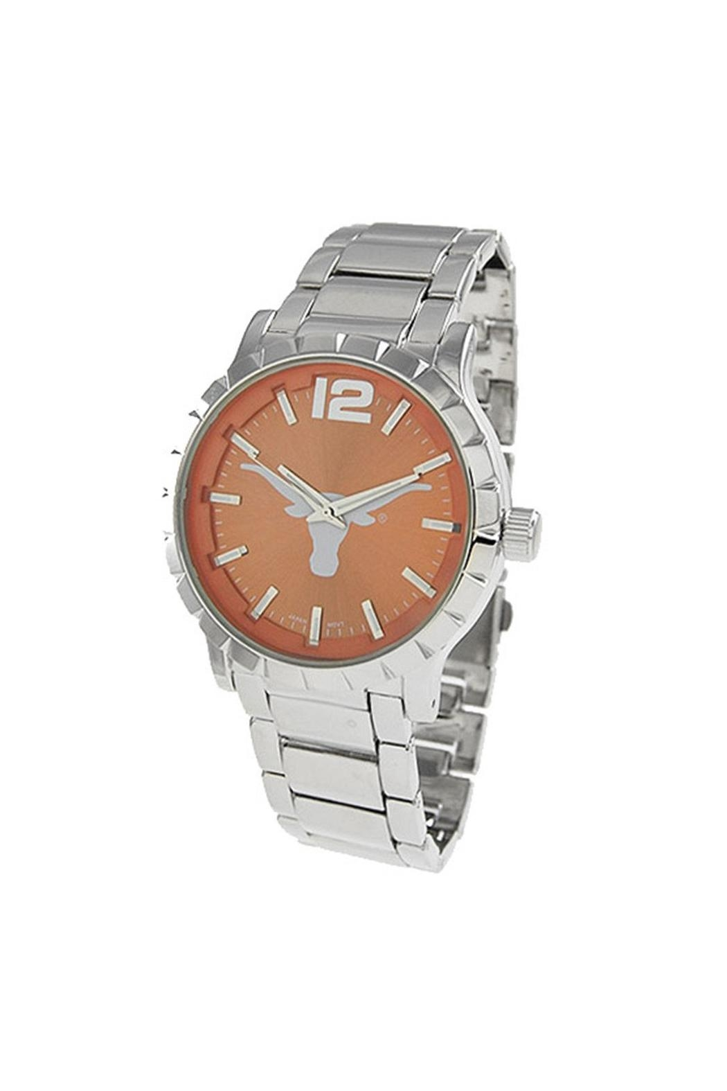 NCAA University-Of-Texas Men's Watch - Front Cropped Image