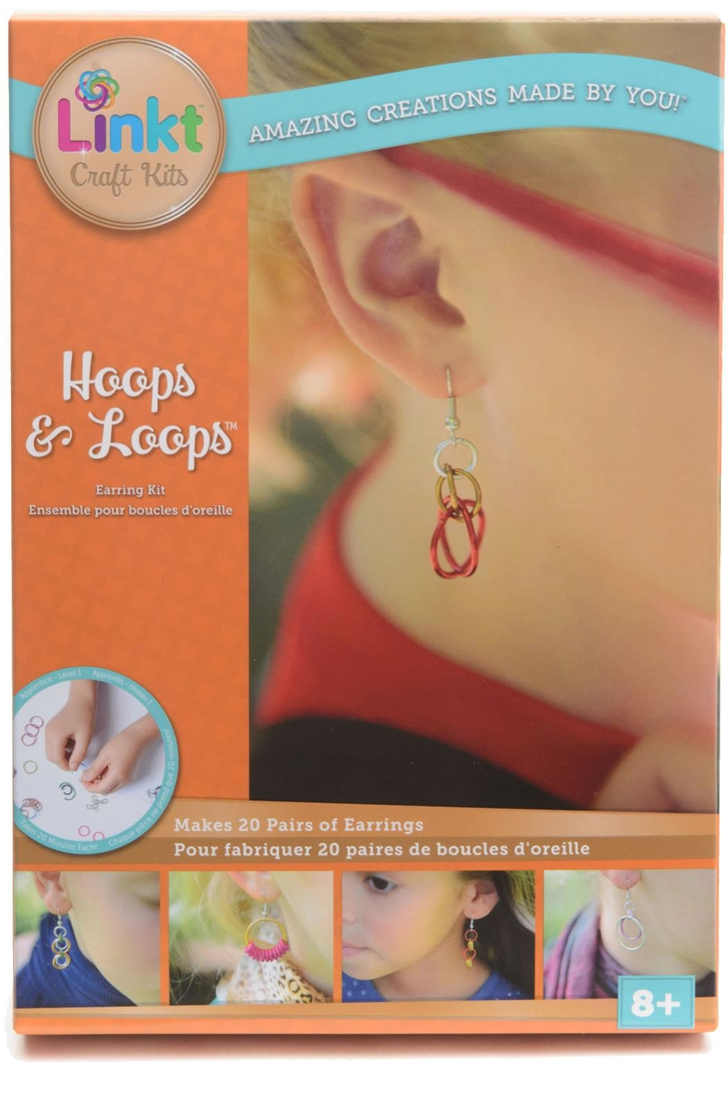 Neat Oh! International Linkt Hoops & Loops - Front Cropped Image
