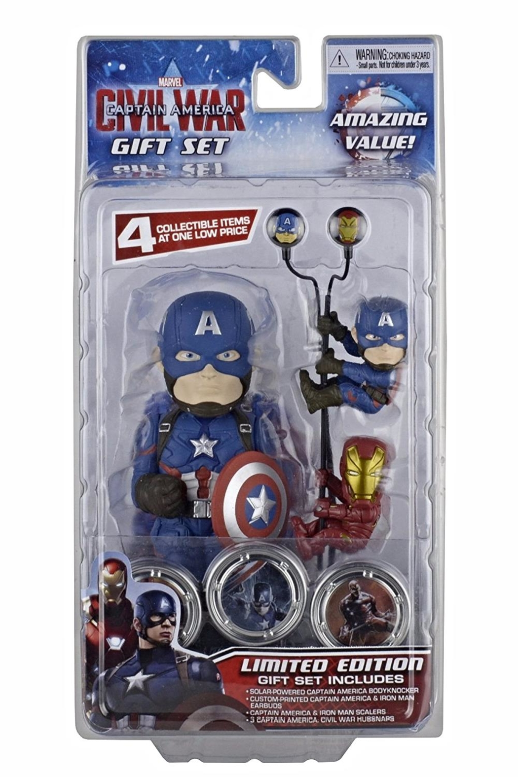 NECA Captain America Gift Set - Main Image