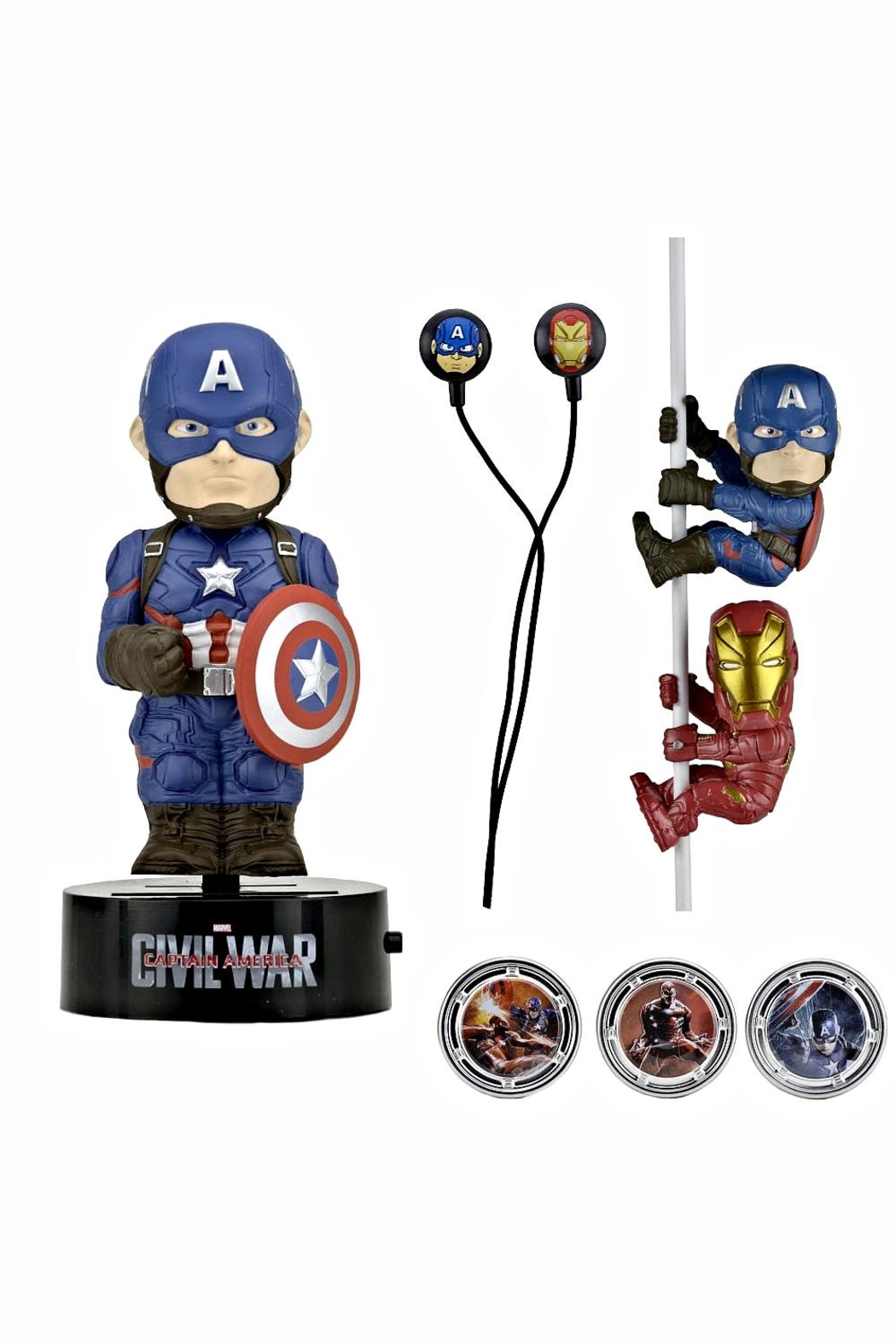 NECA Captain America Gift Set - Front Full Image