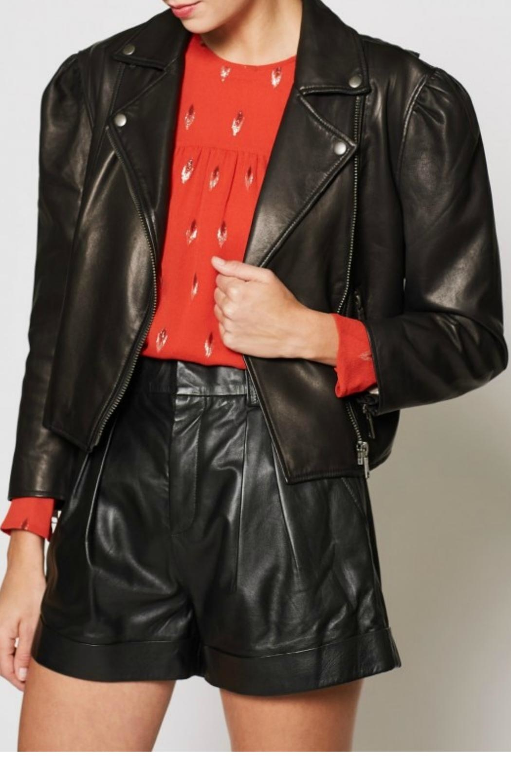 Joie Necia Leather Jacket - Main Image