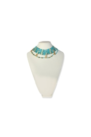 Wayuu Women Project Necklace Blue Quartz - Product Mini Image