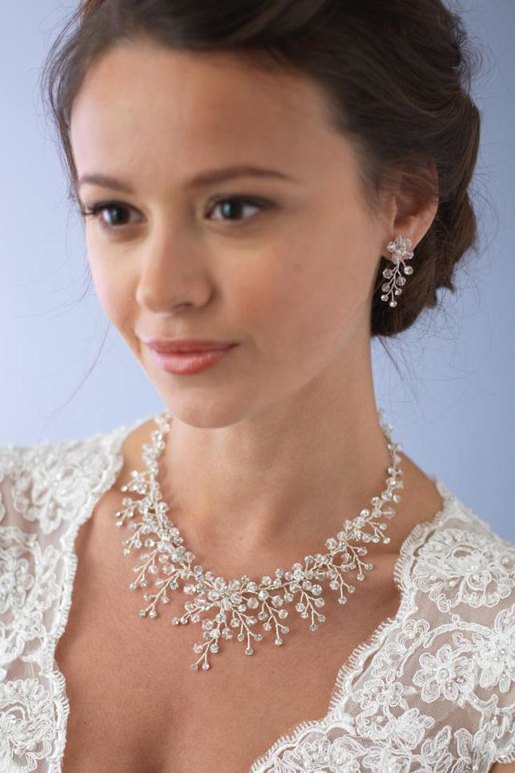 Wild Lilies Jewelry  Necklace & Earrings Set - Main Image