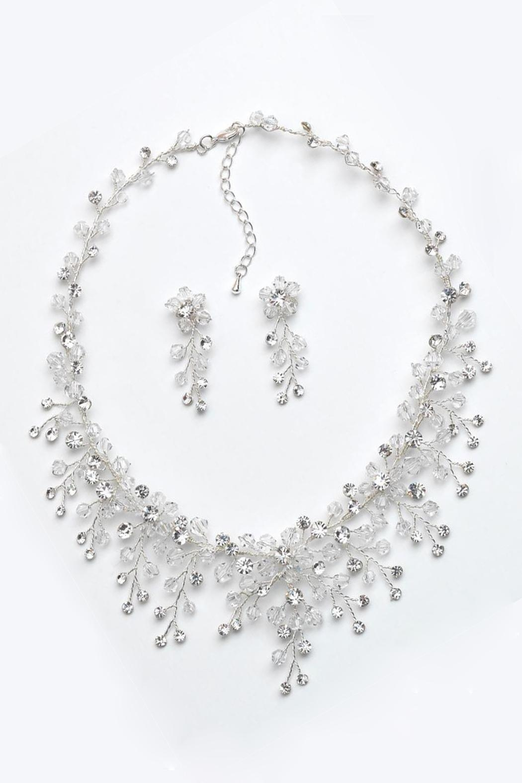 Wild Lilies Jewelry  Necklace & Earrings Set - Side Cropped Image