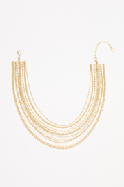 Nakamol Necklace Gold W/ Multi Strands - Product Mini Image