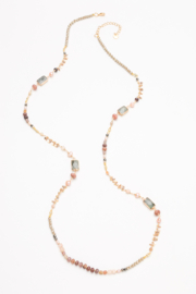 Nakamol Necklace Long Mixed Bead - Front cropped